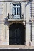 Door of an old building — Stock Photo