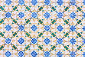 Vintage tiles from Lisbon, Portugal — Stock Photo