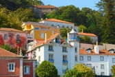 Colorful homes on a hill in Sintra, Port — Stock Photo