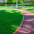 Path through landscaped park — Stock Photo #1313811