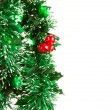 Christmas decorations on white backgroun — Stock Photo #1369866