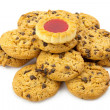 Stock Photo: Cookies isolated on white backgrounds