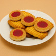 Stock Photo: Plate of cookies