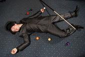 Hombre muerto gángster — Foto de Stock