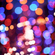 Abstract defocused color lights - Stock Photo
