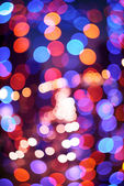 Abstract defocused color lights — Stock Photo