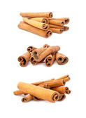 Set of Cinnamon Sticks — Stock Photo