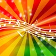 Flowing Music Notes — Stock Photo #1148595