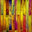 Creative Wooden Wall - Foto Stock