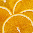 Juicy Orange Background - Stock Photo