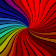 Stock Photo: Colorful Rays Background