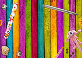Colorful Girly Background — Stock Photo