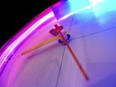 Glowing Clock — Stock Photo