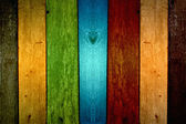 Multi-Colored Planks Background — Stock Photo
