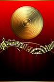 Premium Musical Background — Stock Photo