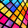 Stock Photo: Stained-Glass Background