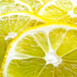 Stock Photo: Juicy Lemon Slices