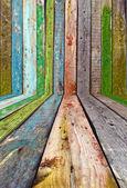 Vintage Wood Room — Stock Photo