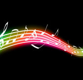 Music Notes — Stock Photo