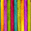 Colorful Wood Background — Photo