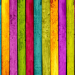 Colorful Wood Background — Stock fotografie