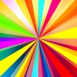 Colorful Rays Background - Stock Photo