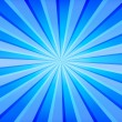 Blue Rays Background - Foto de Stock  
