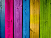 Colorful Wood Background — Stock Photo