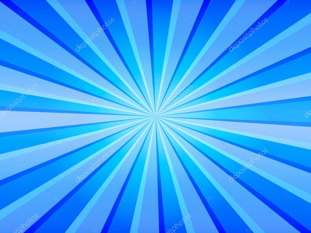 Blue rays - useful as a background for flyer designs, cd covers, etc. — Stock Photo #1170585