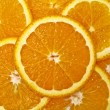 Royalty-Free Stock Photo: Juicy Orange Background