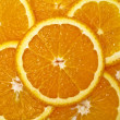 Juicy Orange Background — Stock Photo