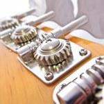 Bass Guitar Tuning Mechanism — Stock Photo