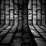 Dark Tiled Background — Stock Photo