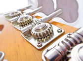 Bass Guitar Tuning Mechanism — Stock Photo