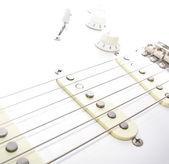 Elektro gitar dizeleri — Stok fotoğraf