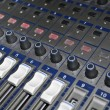 Stock Photo: Mixing Console