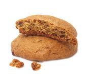 çıtır yulaflı kurabiye — Stok fotoğraf