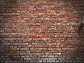 Grungy Brick Wall — Stock Photo