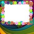 Colorful Frame on Bright Background - Stock Photo