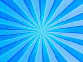 Blue Rays Background — Stock Photo