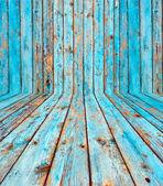 Shabby Wooden Room — Stock Photo