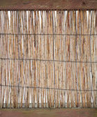 Wicker Fence — Stockfoto