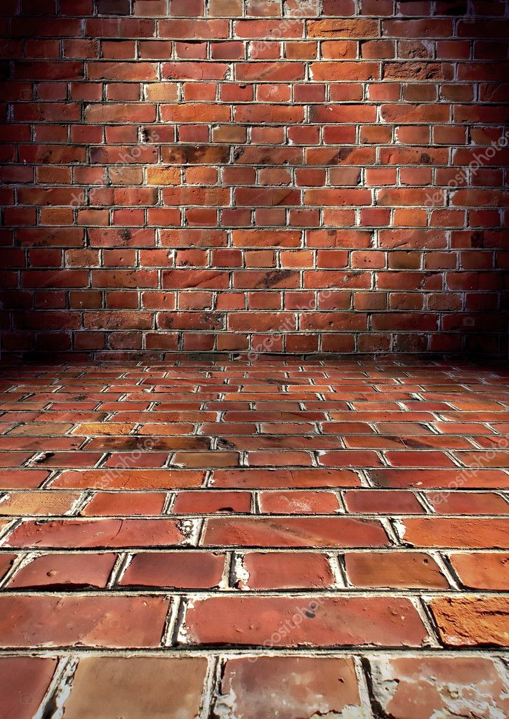 A grungy brick room — Stock Photo #1861447