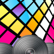 Disco Background — 图库照片