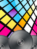 Disco Background — Stock fotografie