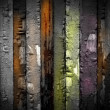 Vintage Wooden Wall - Foto Stock