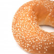 Freshly Baked Bagel - Stock Photo
