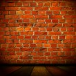 Vintage Brick Wall Background — Stock fotografie