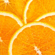 Juicy Orange Slices - Zdjęcie stockowe