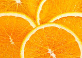 Juicy Orange Slices — Stockfoto